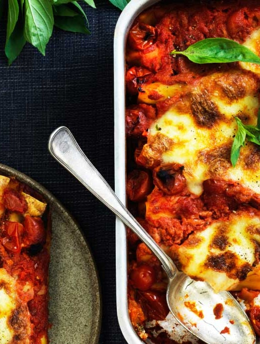 cannelloni med spinat