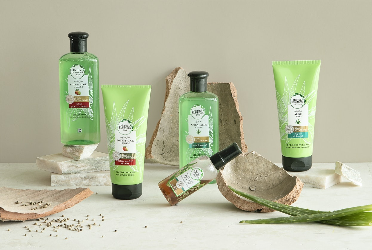 Herbal Essences Pure Aloe collection